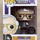 Funko Pop Marvel Guardians Of The Galaxy Stan Lee + Free Protector