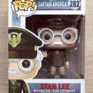Funko Pop Marvel Captain America Stan Lee + Free Protector