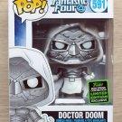 Funko Pop Marvel Fantastic Four Doctor Doom White ECCC + Free Protector