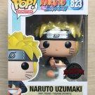 Funko Pop Naruto Shippuden Naruto Uzumaki Eating Noodles + Free Protector