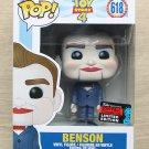 Funko Pop Disney Toy Story Benson NYCC + Free Protector