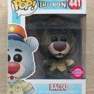 Funko Pop Disney Talespin Baloo Flocked + Free Protector