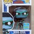 Funko Pop Marvel Captain Marvel Minn-Erva SDCC + Free Protector