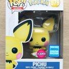 Funko Pop Pokemon Pichu Flocked Wondercon + Free Protector