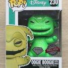 Funko Pop Disney NBC Oogie Boogie Diamond Glitter (Box Damage) + Free Protector