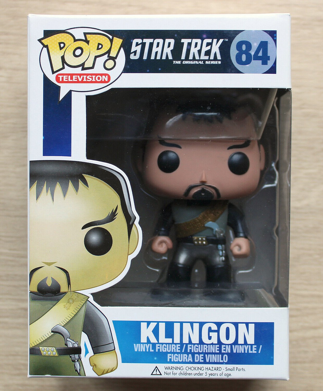 Funko Pop Star Trek Klingon (Box Damage) + Free Protector