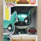 Funko Pop My Hero Academia Izuku Midoriya Metallic + Free Protector