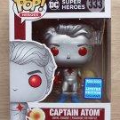 Funko Pop DC Heroes Captain Atom Wondercon + Free Protector