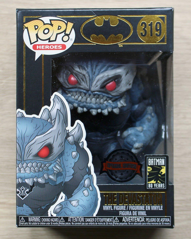 Funko Pop DC Heroes Batman The Devastator + Free Protector