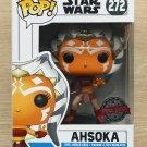Funko Pop Star Wars Ahsoka + Free Protector