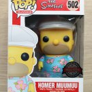 Funko Pop The Simpsons Homer MuuMuu + Free Protector