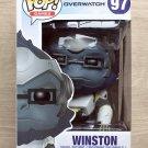 "Funko Pop Games Overwatch Winston 6"" + Free 6"" Protector"