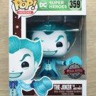Funko Pop DC Heroes The Joker As Jack Frost + Free Protector