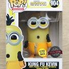 Funko Pop Minions Rise Of Gru Kung Fu Kevin GITD + Free Protector