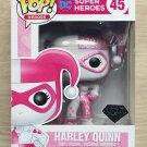 Funko Pop DC Heroes Harley Quinn Pink Diamond Glitter + Protector