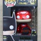 Funko Pop DC Heroes Batman 80th Anniversary Red Chrome + Protector