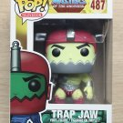 Funko Pop Masters Of The Universe Trap Jaw Metallic + Free Protector