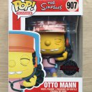 Funko Pop The Simpsons Otto Mann + Free Protector