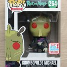 Funko Pop Rick And Morty Krombopulos Michael NYCC + Free Protector
