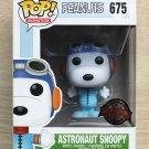 Funko Pop Peanuts Astronaut Snoopy Blue Suit + Free Protector