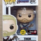 Funko Pop Marvel Avengers Endgame Thor GITD (Box Damage) + Free Protector