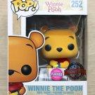 Funko Pop Disney Winnie The Pooh Seated Flocked + Free Protector