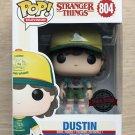 Funko Pop Stranger Things Dustin Arcade Tee + Protector