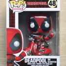 Funko Pop Rides Marvel Deadpool On Scooter + Free Protector