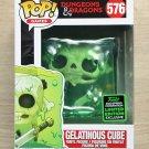 Funko Pop Games Dungeons & Dragons Gelatinous Cube ECCC + Free Protector