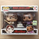Funko Pop Office Space Michael Bolton & Samir ECCC 2 Pack + Free Protector