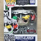 Funko Pop Beetlejuice With Carousel Hat + Free Protector