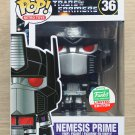 Funko Pop Retro Toys Transformers Nemesis Prime + Free Protector