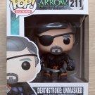 Funko Pop Arrow Deathstroke Unmasked + Free Protector
