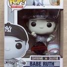 Funko Pop Sports Legends Babe Ruth B&W + Free Protector