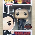 Funko Pop The Office Threat Level Midnight Michael Scarn + Free Protector