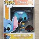 Funko Pop Disney Lilo & Stitch - Aloha Stitch + Free Protector