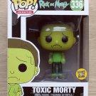 Funko Pop Rick And Morty Toxic Morty GITD + Free Protector