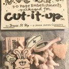 Cut It Up By Dress It Up by Jesse James Buttons It's A Girl Button Pack # 336