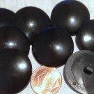 "12 Brown Tan Swirl Plastic Semi-Translucent Sew-through Buttons 3/4"" 19mm # 7153"