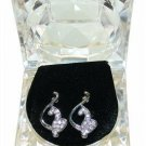 Diamond BABY PHAT ICED OUT BLING CZ EARRINGS SILVER STUD NEW