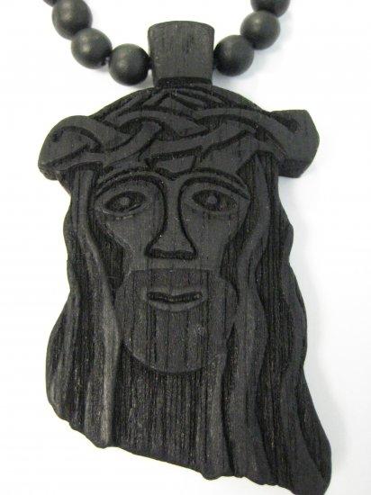 New Goodwood Good Wood Jesus NYC Replica Pendant Charm Necklace Chain Black Hip Hop