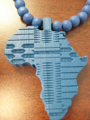 GOODWOOD AFRICA JESUS REPLICA PENDANT PIECES BLUE