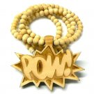 GOODWOOD NATURAL POW PENDANT CHARM NECKLACE CHAIN NEW