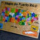 Puerto Rico wooden puzzle map Viga Toys