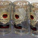 Three Bacardi Oakheart Mugs bat hallmark
