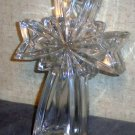 Lead Crystal cross shaped trinket box
