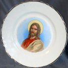 Two Jesus Plates and Nativity Scene Hanging Plaque