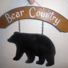 Woodcraft Bear Country Sign Banner