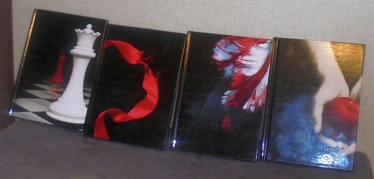 Twilight Journals Edward Bella Eclipse Dawn Moon