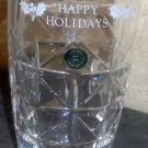 Hand Cut Czech Lead Crystal Holiday Cup